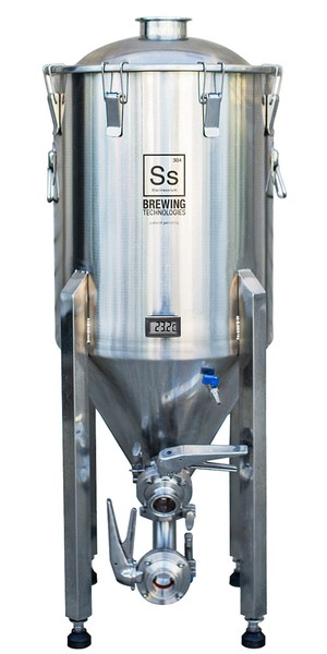 Конический стальной ферментер (ЦКТ) Ss Brewtech Chronical 14 Brewmaster (53 л)